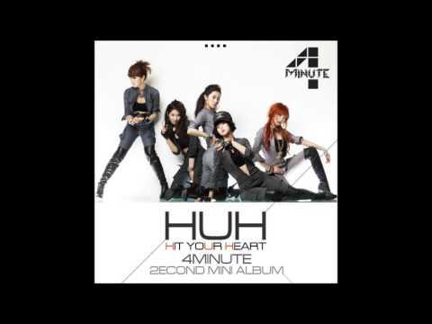 4Minute  HuH Complete Album