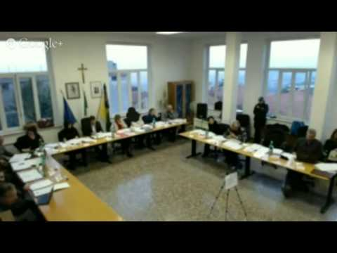 Consiglio Comunale del 13/01/2015 - Monte Porzio Catone (che rispetta il Regolamento comunale)