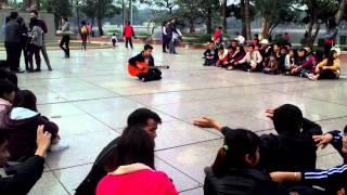 guitar cover Chuyện Mưa - Hội Đồng hương Nghệ An Tại Hà Nội [full 3D] (Hiếu iceTea)