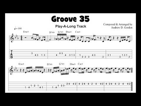 """Funky Guitar Solo from the upcoming book """"100 Ultimate Soul, Funk and R&B Grooves for Guitar"""""""