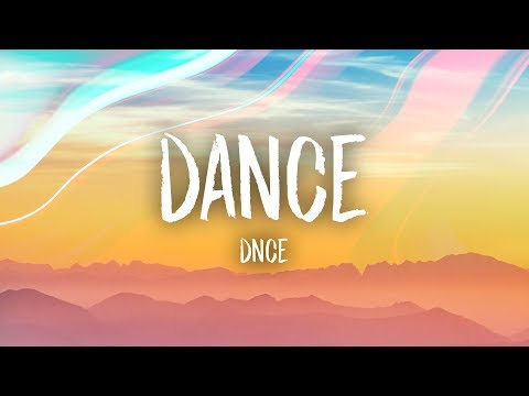 DNCE - DANCE (Lyrics)