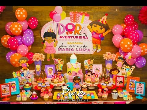 Dora The Explorer Birthday Party Via Little Wish Parties childrens party Blog