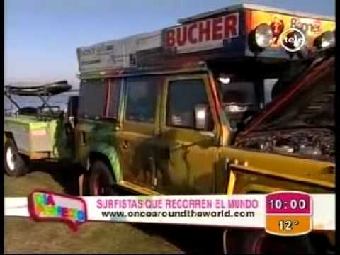 CHANNEL 12 URUGUAY Travel Video