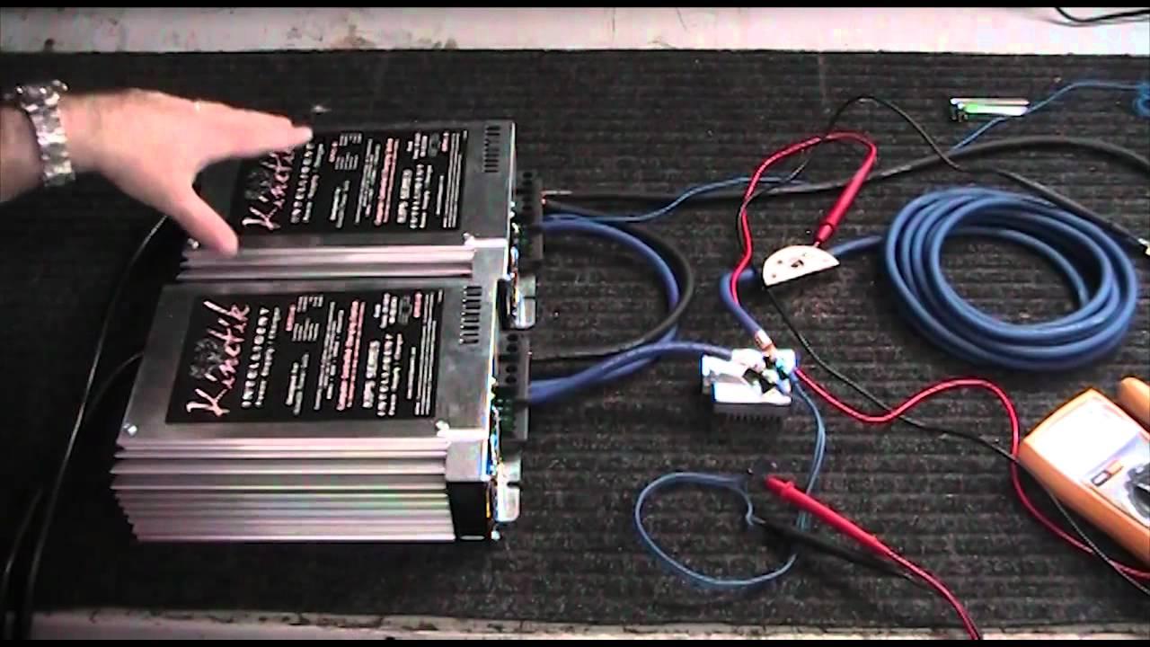 Wirez Amp Kit Comparison Part 1 Youtube Bullz Audio 8 Gauge Car Amplifier Installation Power Wiring