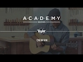 Academy Series - Acoustic Guitar - Design