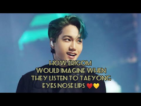 How #erigom Imagine When They Listen To #eyesnoselips #jongin #exo 💛