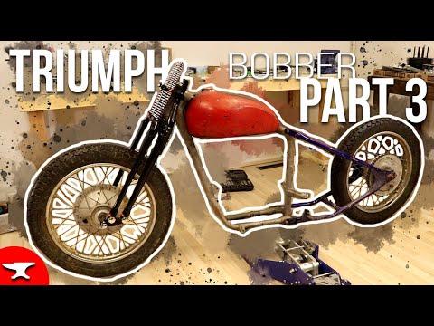 Triumph Bobber Build - [Part 3] - Frame Mock-up