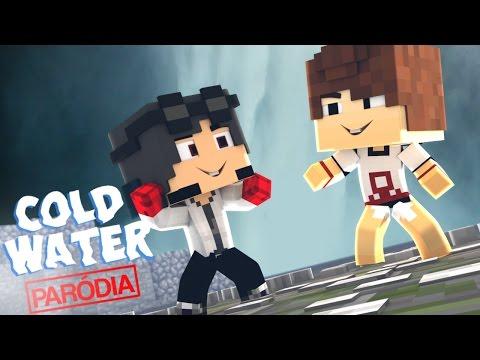 Wiizinho & Rick Marin - Cold Water ft Justin Bieber MØ Minecraft Paródia
