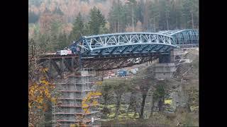 Pňovanský most ( otáčí se 1. pole )