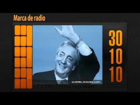 "Editorial Eduardo Aliverti- ""Muerte de Néstor Kirchner""- Marca de Radio-30-10-2010"