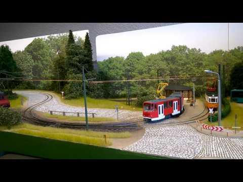 Straßenbahn Modell Tram RC 1:87 - Mit Bus und Bahn ...