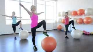 Fitt Ball (Фитбол) в студии женского фитнеса AliceGood