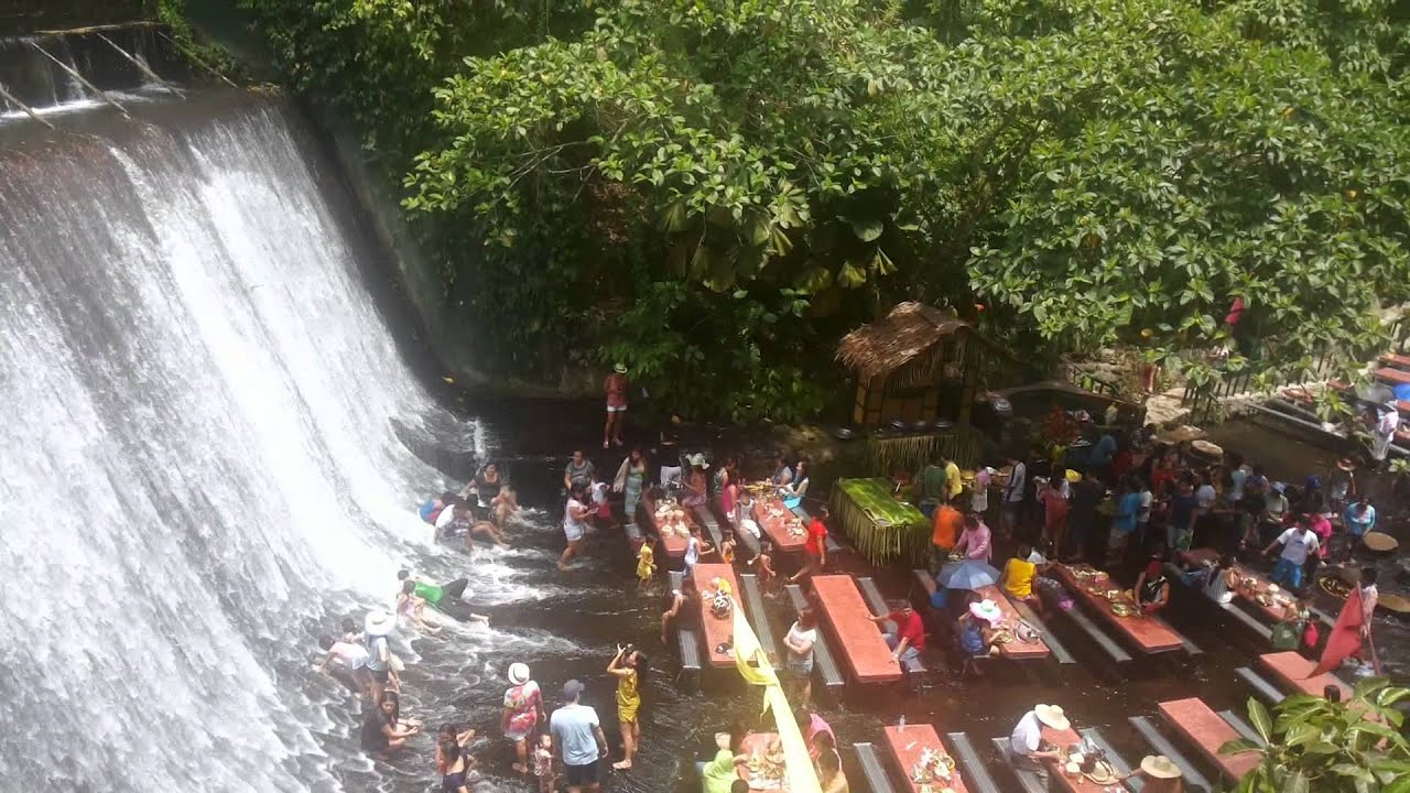 Villa Escudero Falls And Picnic Youtube