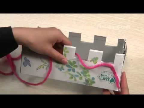 How To Knit a With Scarf  the Box