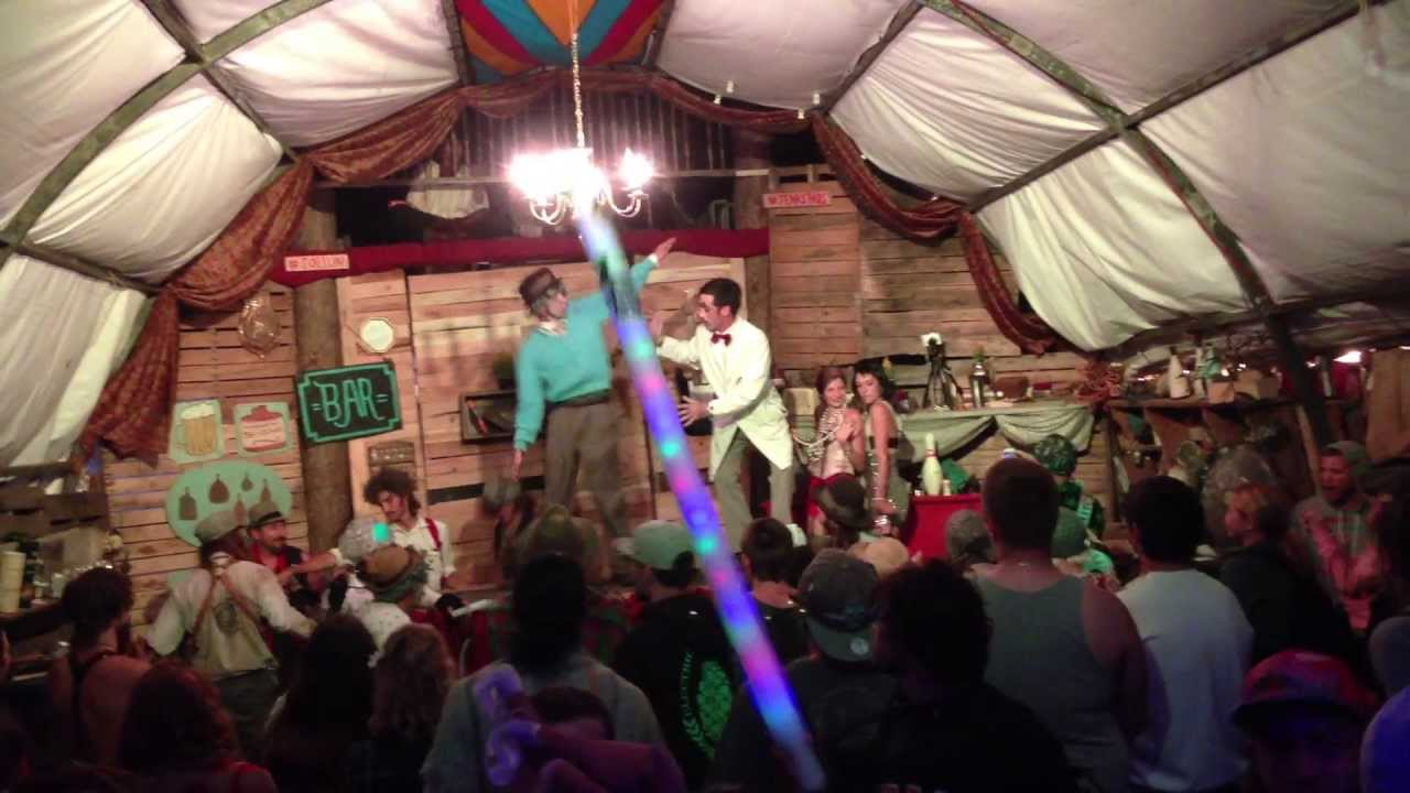 Greenz and L'Unckles Boink in the SolLun at Electric Forest 2013