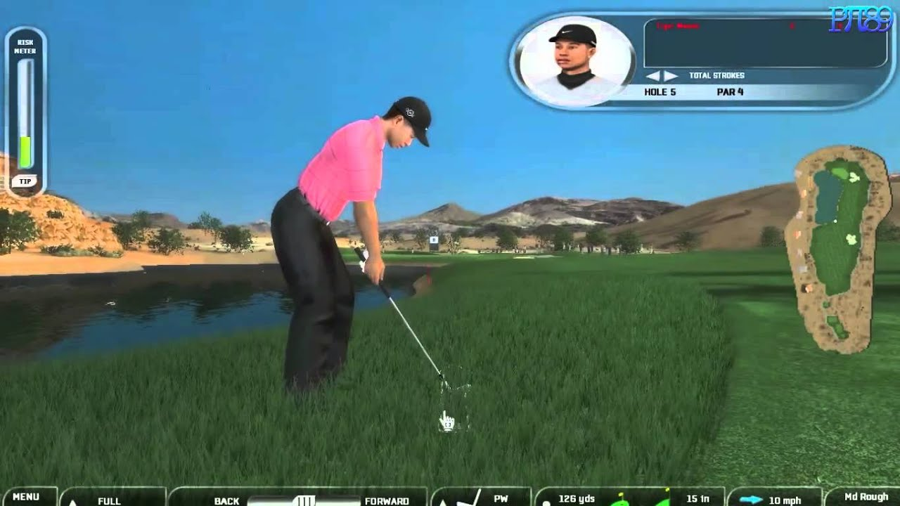 Tiger Woods Pga Tour  Gameplay