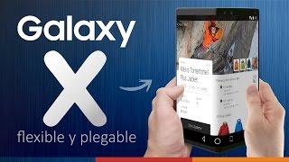 GALAXY X | EL MÓVIL PLEGABLE de SAMSUNG