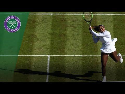 Serena Williams vs Viktoriya Tomova 2R Highlights   Wimbledon 2018