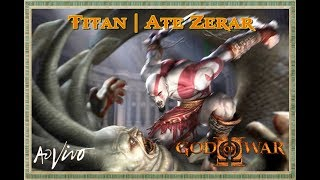 GOD OF WAR 2 PS3 🔴 [[ LIVE ]] 🔴 VERY HARD | TITAN | PARTE 1