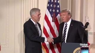 Donald Trump announces Neil Gorsuch as his Supreme Court nominee