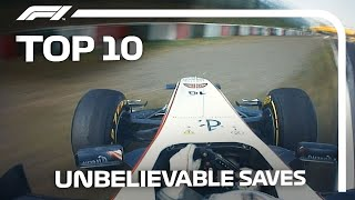 Top 10 Unbelievable Saves In F1