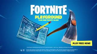 FORTNITE BATTLE ROYALE - PLAYGROUND! New Limited Time Event HD60fps | PureGaming