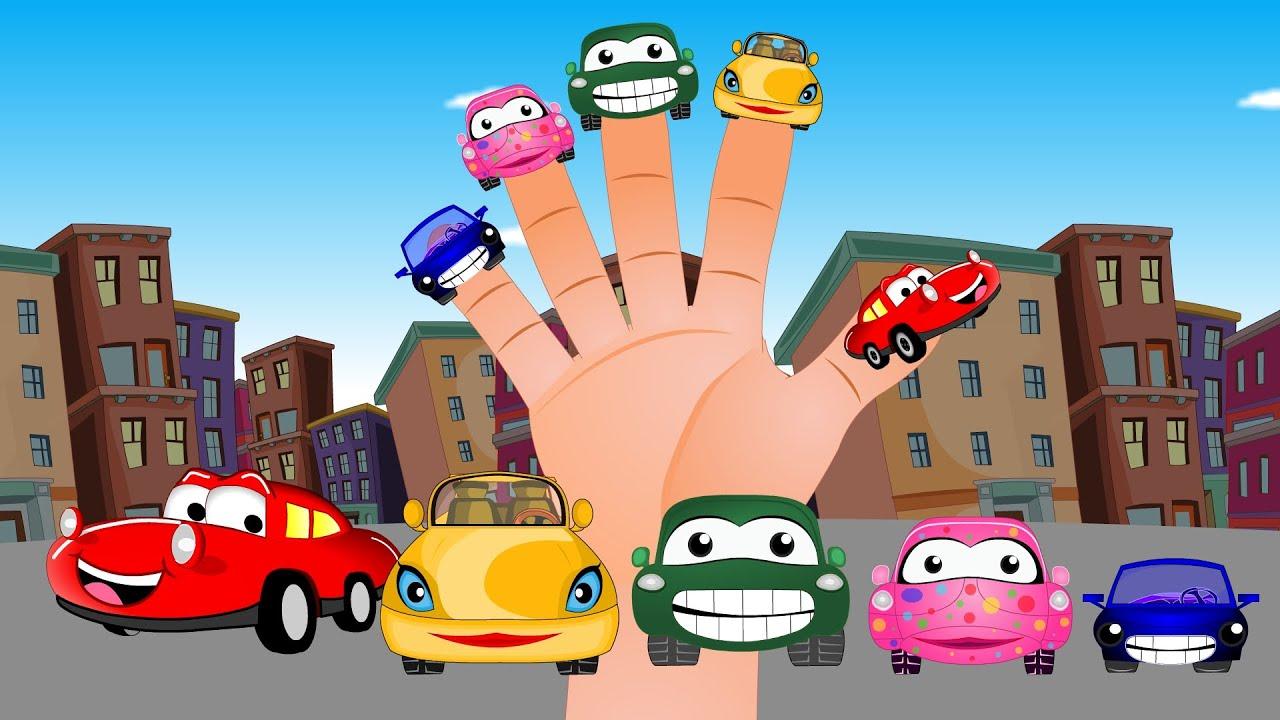 Kelaurga Jari | Mobil-mobil | Lagu Anak TV | Cars Finger Family in Bahasa Indonesia