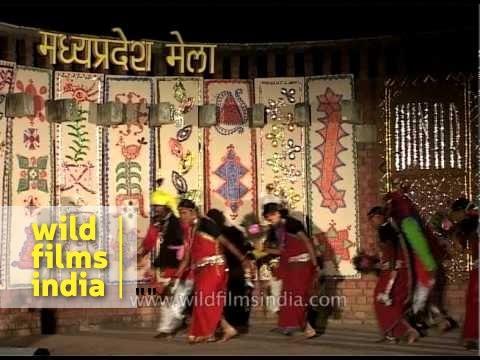 Madhya Pradesh folk dance at Dilli Haat