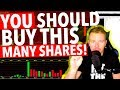 DAY TRADING HOW MANY SHARES YOU SHOULD BUY!