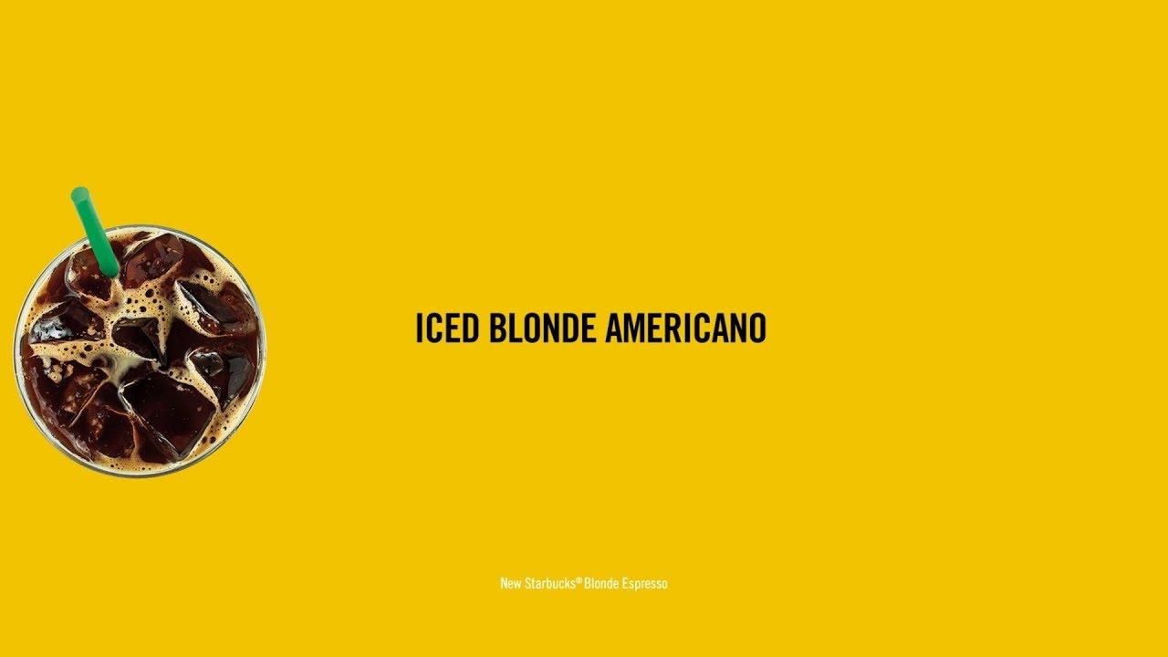 Now serving: Starbucks Blonde Espresso - YouTube