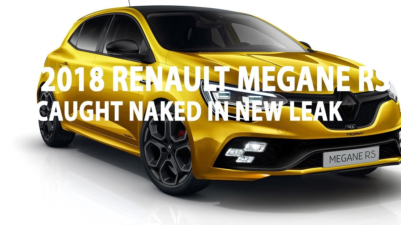 2018 renault megane rs review. perfect 2018 2018 renault megane rs caught naked in new leak  car review inside renault megane rs review