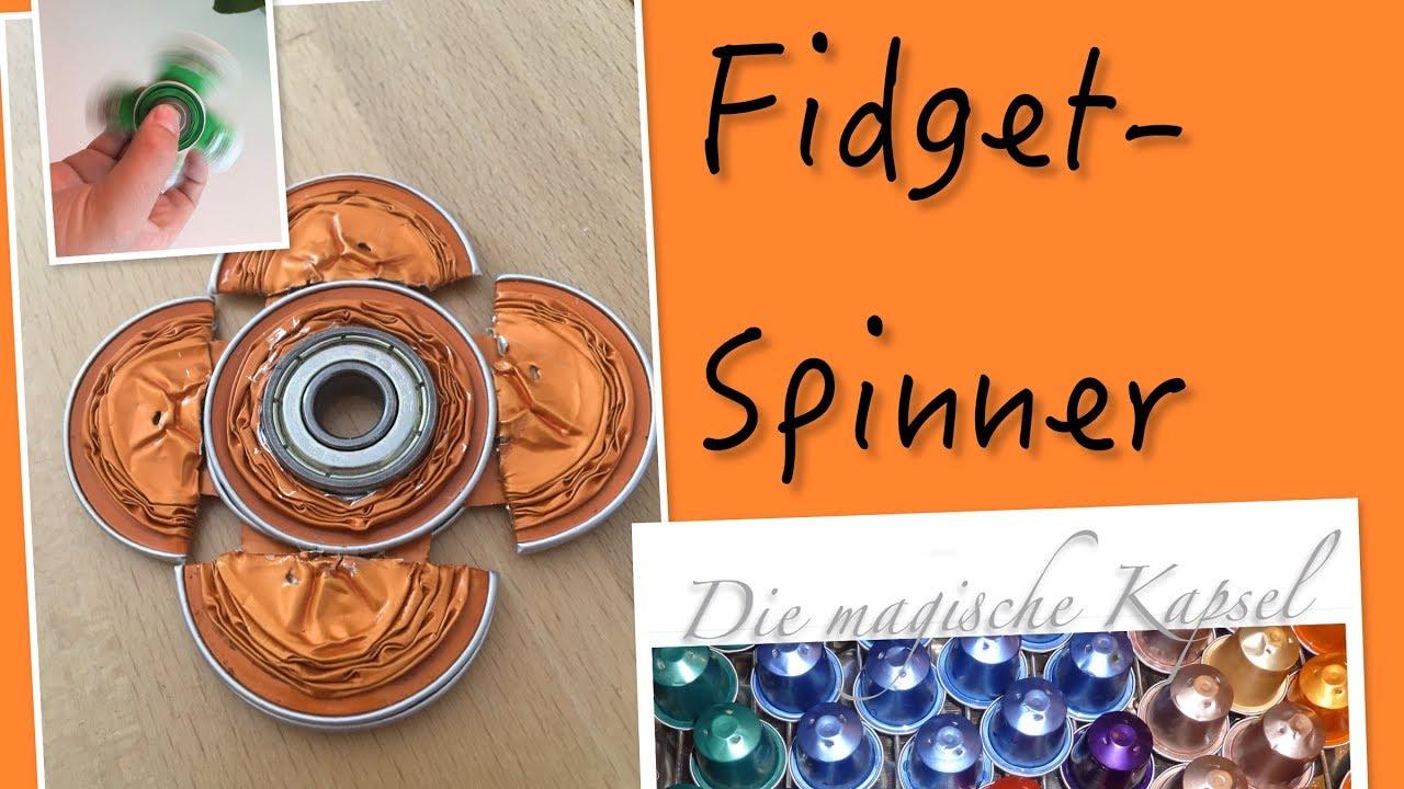 DIY Fidget Spinner aus Kaffeekapseln - die magische (Kaffee-) Kapsel
