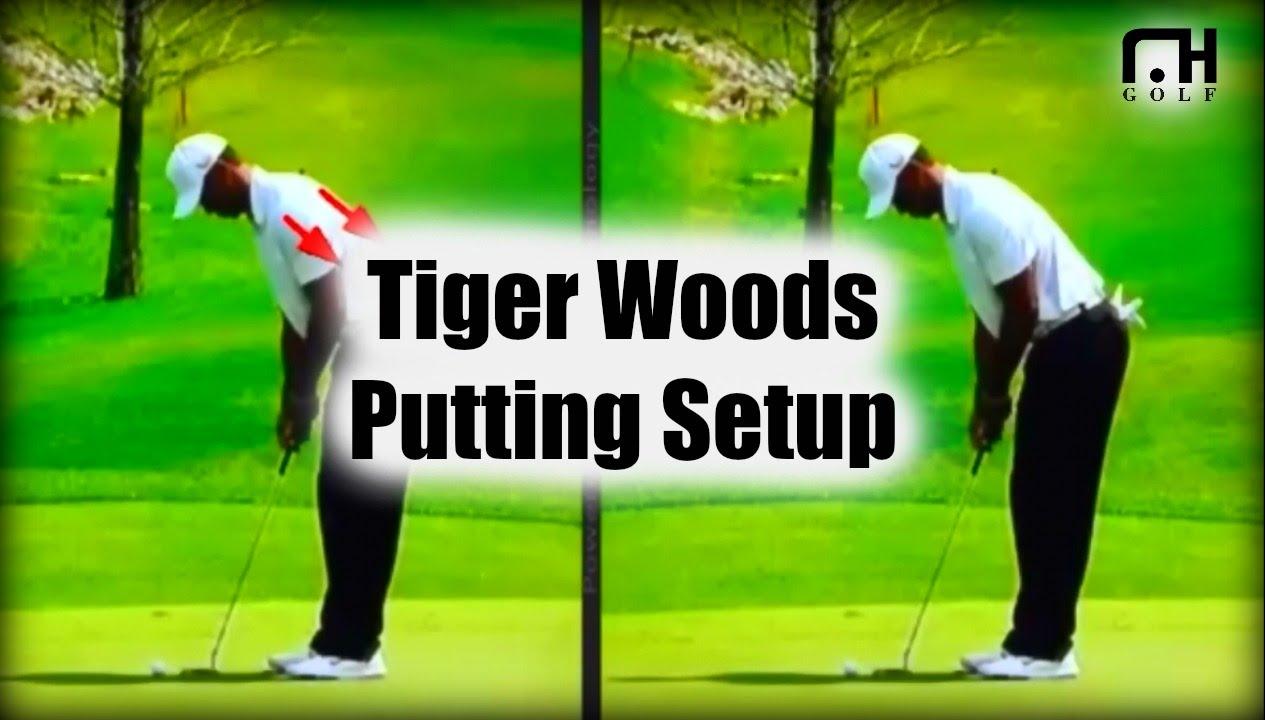 Tiger Woods And Luke Donald Putting Setup Youtube