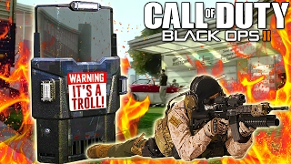 Impossible ASSAULT SHIELD TROLLING on CALL of DUTY! (Black Ops 2 Trolling)