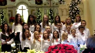 "Liet Choras Varpelis St. Alberts Elizabeth NJ 2013 ""Kur gime Christus""."