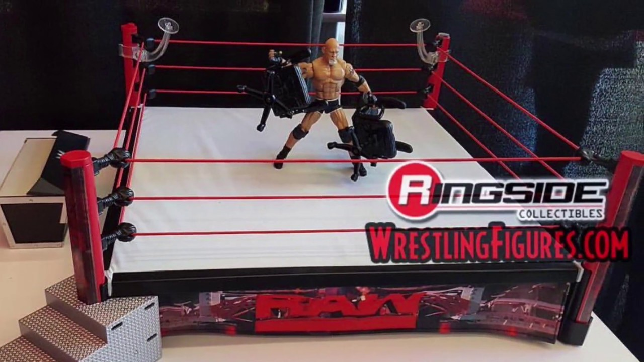 Toys R Us Wwe Rings : Preorder goldberg elite raw led ring now wrestling figures