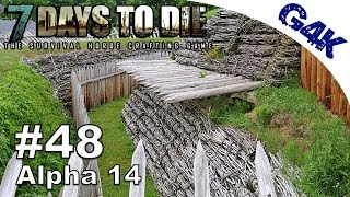 Starting the Defense | 7 Days To Die Alpha 14 Let's Play | Part 48