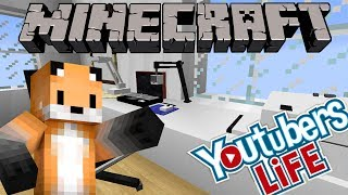 YOUTUBERS LIFE IN MINECRAFT - BEST THING IVE EVER SEEN