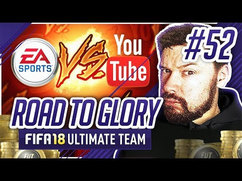 EA v THE COMMUNITY! - #FIFA18 Road to Glory! #52 Ultimate Team