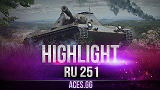 Когда очень хочется, и RU 251 тащит в World of Tanks
