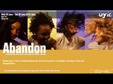 Abandon Photoshoot - Behind the Scenes