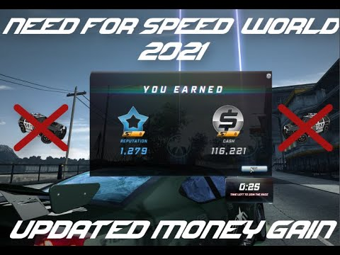 Need For Speed World - Best Money Farm (2021)
