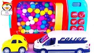 Aprenda cores diferentes com muitos divertidos carros de brinquedo   Learn Colors in Portuguese