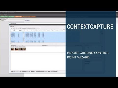 ContextCapture Tutorial - Import Ground Control Point Wizard