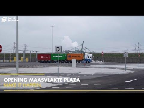 Maasvlakte Plaza opening