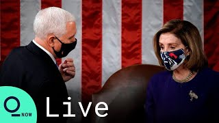 LIVE: Congress Resumes Certification of Biden's Electoral Victory After Capitol Secured