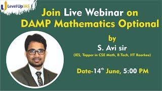 Prelims postponed : How to prepare for Mathematics Optional for UPSC CSE 2021.