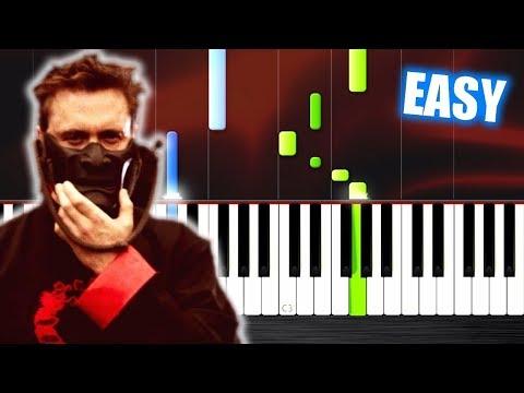 David Guetta & Sia - Flames - EASY Piano Tutorial by PlutaX