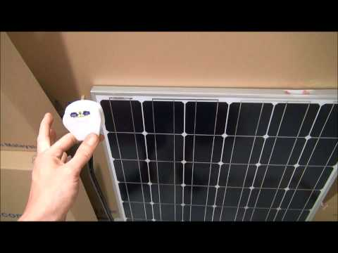 Alternate Current Solar Panel Part 1