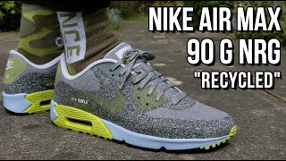 NIKE AIR MAX 90 G NRG REVIEW - On feet, comfort, weight ...